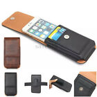Luxury Universal Leather Belt Pouch Phone Case Cover Wallet Holster Belt Clip