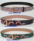 HOT SELL FASHION PRINT DESIGN MEN&WOMAN BELT WAISTBAND SQUARE GOLD BUCKLE
