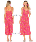 FREE PEOPLE  Sz 12 Hot Tropics Jumpsuit New Tags