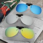 Polarized UV400 Clip On Flip Up Aviator Sunglasses