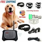 Wireless Pet Dog Fence System Waterproof Electric Transmitter Collar for 3 Dogs