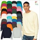 AWDis Sweatshirt Crew Neck Classic Pullover Jumper Casual Leisure Work wear TOP