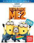 Despicable Me 2 3D Blu-ray + Blu-ray + DVD With Lenticular Slipcover Region Free