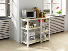 """3-Course 35"""" Microwave Stand Storage Kitchen Baker's Rack Utility Microwave Holder"""