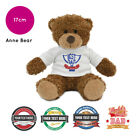 Personalised Name Fathers Day Anne Teddy Bear Presents Gifts for Dad Grandad