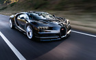 Bugatti Car Poster prints garage boys bedroom gift present Veyron Vision Chiron