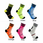 1pair Men Women Riding Cycling Sports Socks Unseix Breathable Bicycle Footwear