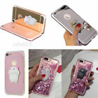 Luxury 3D Squishy Silicon Cute Fidget Toy Soft TPU+PC Case Cover For Smart Phone