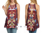 FREE PEOPLE  S+M+L  Dream Free Printed Top New Tags