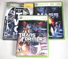 Lot of 3 XBOX 360 Games - Army of Two - Transformers - Mass Effect