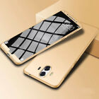 For Huawei P10/Mate 10 Lite Case 360° Full Protect Hybrid Cover +Tempered Glass