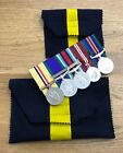Regimental Medal Wallet Pouch Full Size Medals, Felt, Army, Military, Regiment