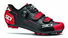 New Genuine SIDI Trace Men's Moutain MTB  Spin Cycling Shoe Black Red All Sizes