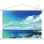 Persona 3 P3 The Movie #2 Aigis B3 Tapestry Wall Scroll Movic Theater Limited