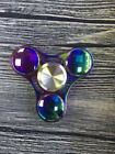 20pcs/lot Rainbow Four Spinner Figet Spinner Hand Finger Desk Focus Colorful Toy