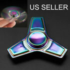 3pcs/lot Rainbow Four Spinner Figet Spinner Hand Finger Desk Focus Colorful Toy