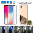 Mirror Front Back Tempered Glass Screen Protector Apple Iphone X 10 8 7 6 5 Plus