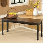 designer benches - Signature Design by Ashley Owingsville Large Dining Bench