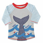 Mud Pie Little Boys Make Waves Whale Rash Guard Size 6M-5T#1022119 NWT
