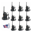 10 Pcs Baofeng BF-888S UHF 400-470MHz Handheld Two-way Ham Radio Transcevier