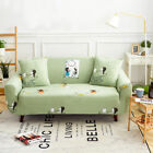 Spandex Slipcovers Sofa Cover Protector for 1 2 3 4 seater OauL Cute Girl xnh
