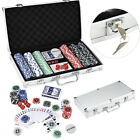 500pcs Poker Set Poker Chips Cards with Case Party Camping Game Playing Cards