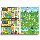 Infant Babay Climbing Mat 2cm Thick Puzzle Game Floor Stripe
