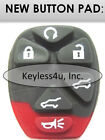 New replacement button pad GM/L 20869057 keyless remote auto SUV Acadia starter