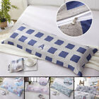 Bedding Long Body Pillow Case Covers Pillowcase Non-slip Protector Removable MWT image