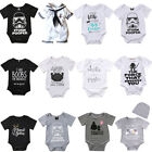 Cotton Baby Boy Girl Unisex Clothes Summer Romper Bodysuit Playsuit Outfits Lots