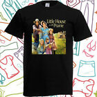 Little House on The Prairie TV Show Men's Black T-Shirt Size S to 3XL image
