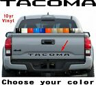 2 Sets 2016 2017 2018 Toyota Tacoma Vinyl Tailgate Decal Inlay