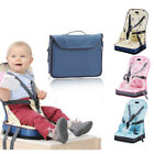 Portable Safety Baby High Chair Feeding Booster Seat Harness Belt Cushion Bag
