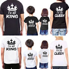 Couple T-shirt Mother Father Boy Girl Kids Matching Tee Tops Family Clothes Set