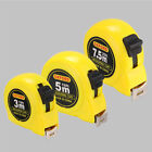 Retractable Metric/ Feet/ Inches Measuring 10'/ 16'/ 25' Tape Measure Tools