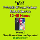 T-Mobile Unlocking Service for iPhone X Only