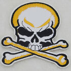 Pirate flag skull Embroidered For Clothing Iron On Patch Sew