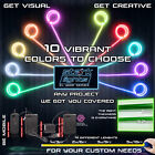 Внешний вид - Thicker Neon LED Light Glow EL Wire + Control String Strip Rope Tube Decor Party