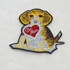 Lovel Pet Dog Embroidery Iron sew on patch applique badge DIY Motif For clothing