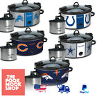NFL Cook & Carry Slow Cooker + Little Dipper Pot, Premium, Electric, Crock, Cook