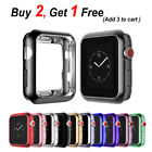 PASBUY Flexible Electroplate Protector case for Apple Watch Series 3 2 1 86C