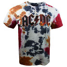 AC DC Mens XL Tee T Shirt ACDC Rock Music Band Hell Tour Back Vintage NEW  image