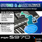PSR-S970 Ultimate Swing/Jazz Pro styles Expansion Pack Download + Updates 159MB