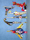 POWER RANGERS DINO THUNDER WEAPONS COLLECTION LOT CHOOSE ONE !!!!!!