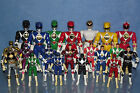 """POWER RANGERS MIGHTY MORPHIN SELECTION OF 8"""" AND 4"""" FIGURES FLIPHEADS"""