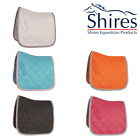 SHIRES WESSEX DRESSAGE CUT SADDLE CLOTH PAD - TURQUOISE WHITE PINK - FULL - SALE