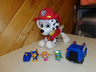 NICKEODEON PAW PATROL  PLUSH MARSHALL TALKING DOG & MIXED LOT OF ITEMS