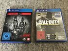 PS4 Spiele Evolve und Call of Duty