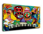 Fantasy Decor Art Electric Mayhem Band Oil Painting Print On Canvas Framed