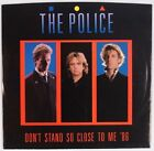 THE POLICE: Don't Stand so Close to Me USA A&M 45 w/ PS Sting VG++
